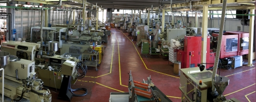 Moulding department