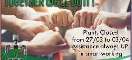 Covid-19 – Plants Closing