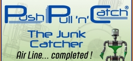PULL'n'CATCH – The Junk Catcher… Linea aria GreenBlow completata !