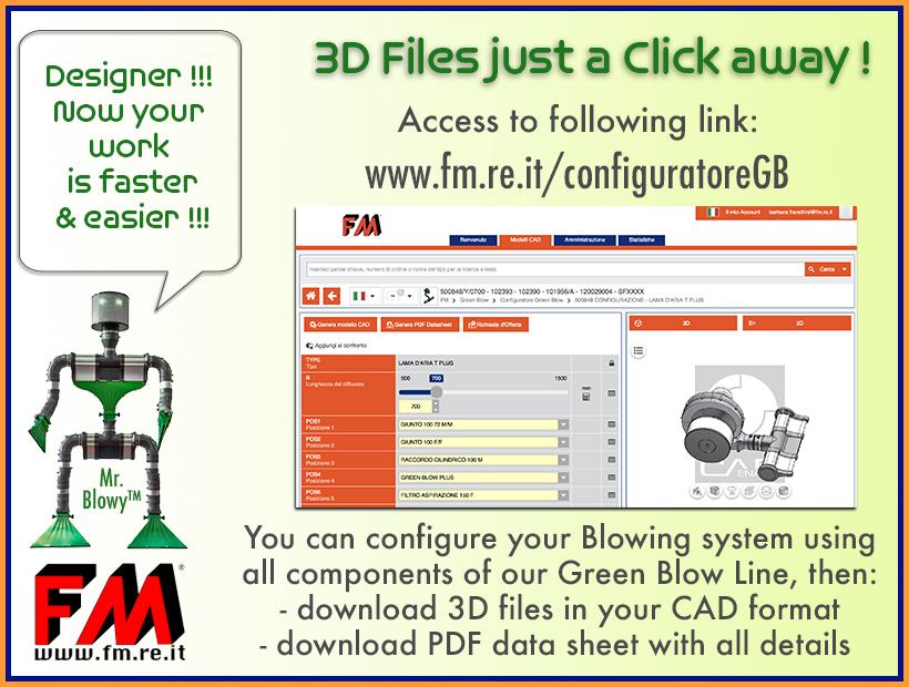 Linea Aria: File 3D a portata di Click !