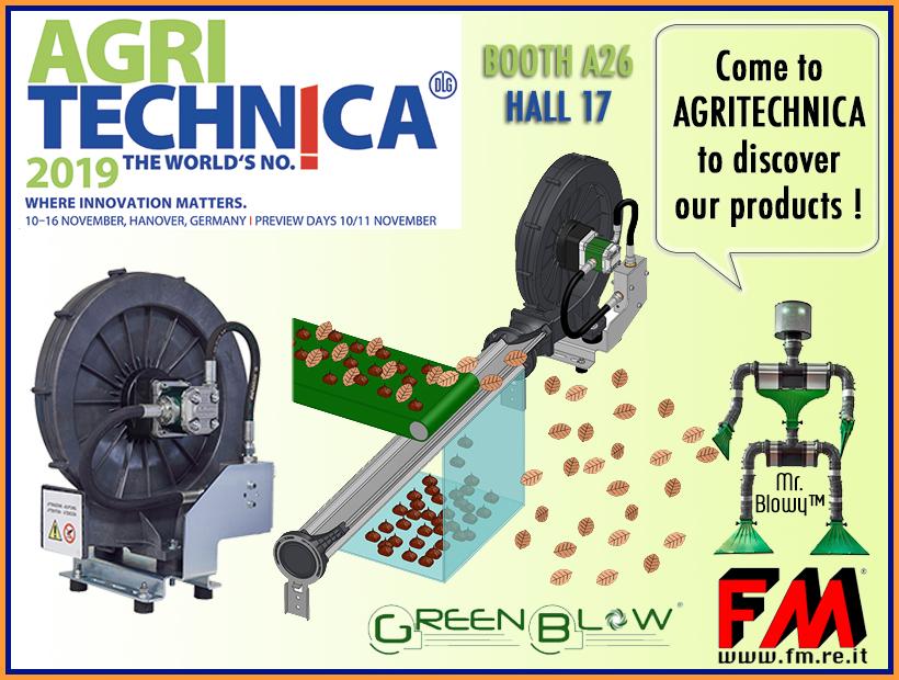 Agritechnica e Linea Aria Green Blow