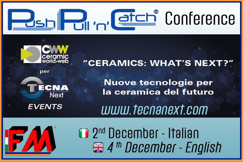 """Ceramics: What's Next ?""- video presentazione Pull'n'Catch®"