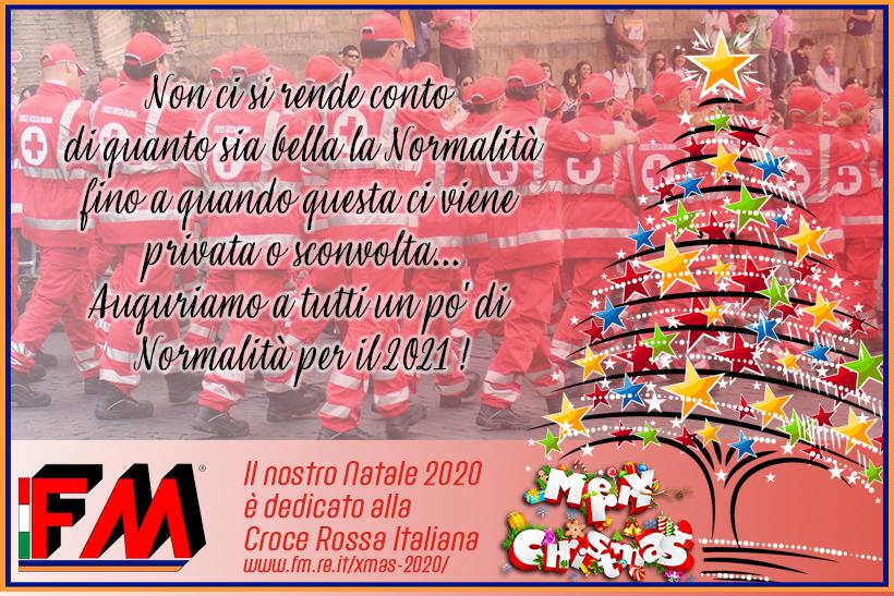 Il nostro 2020 e un Natale con la Croce Rossa